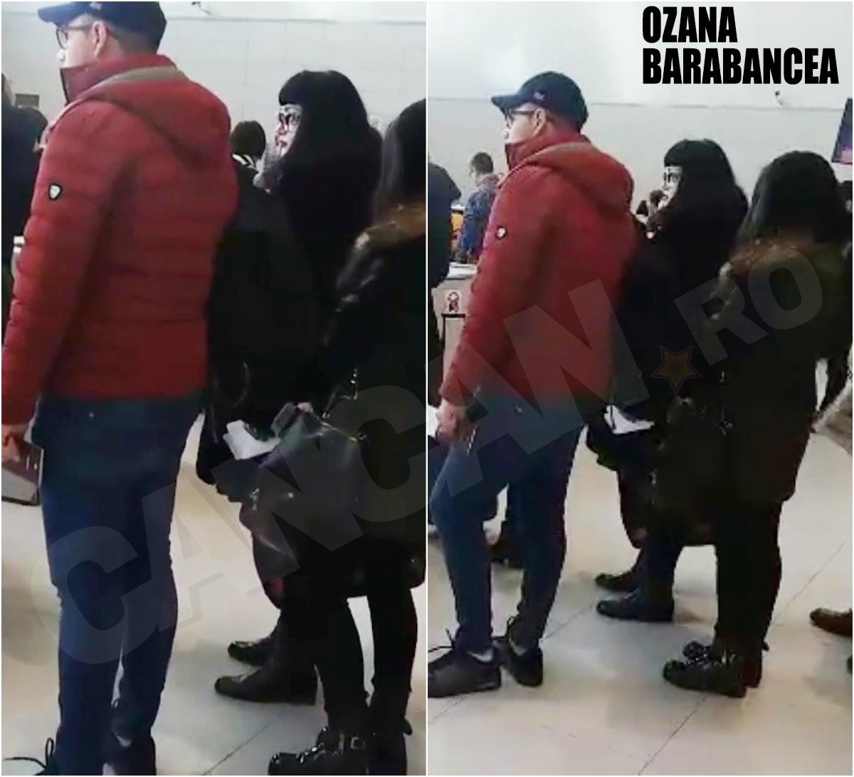 Am întâlnit-o pe Ozana Barabancea pe aeroport