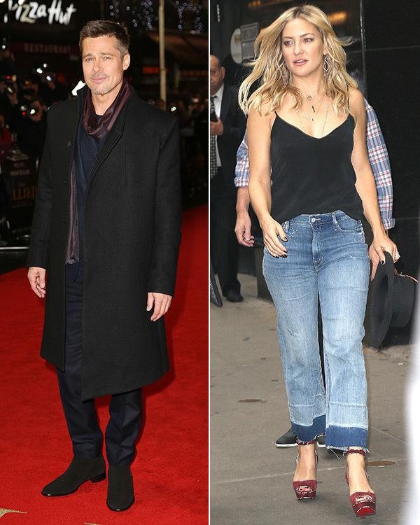 Brad Pitt s-a cuplat oficial cu Kate Hudson, iar mama acesteia a confirmat oficial relaţia celor doi.