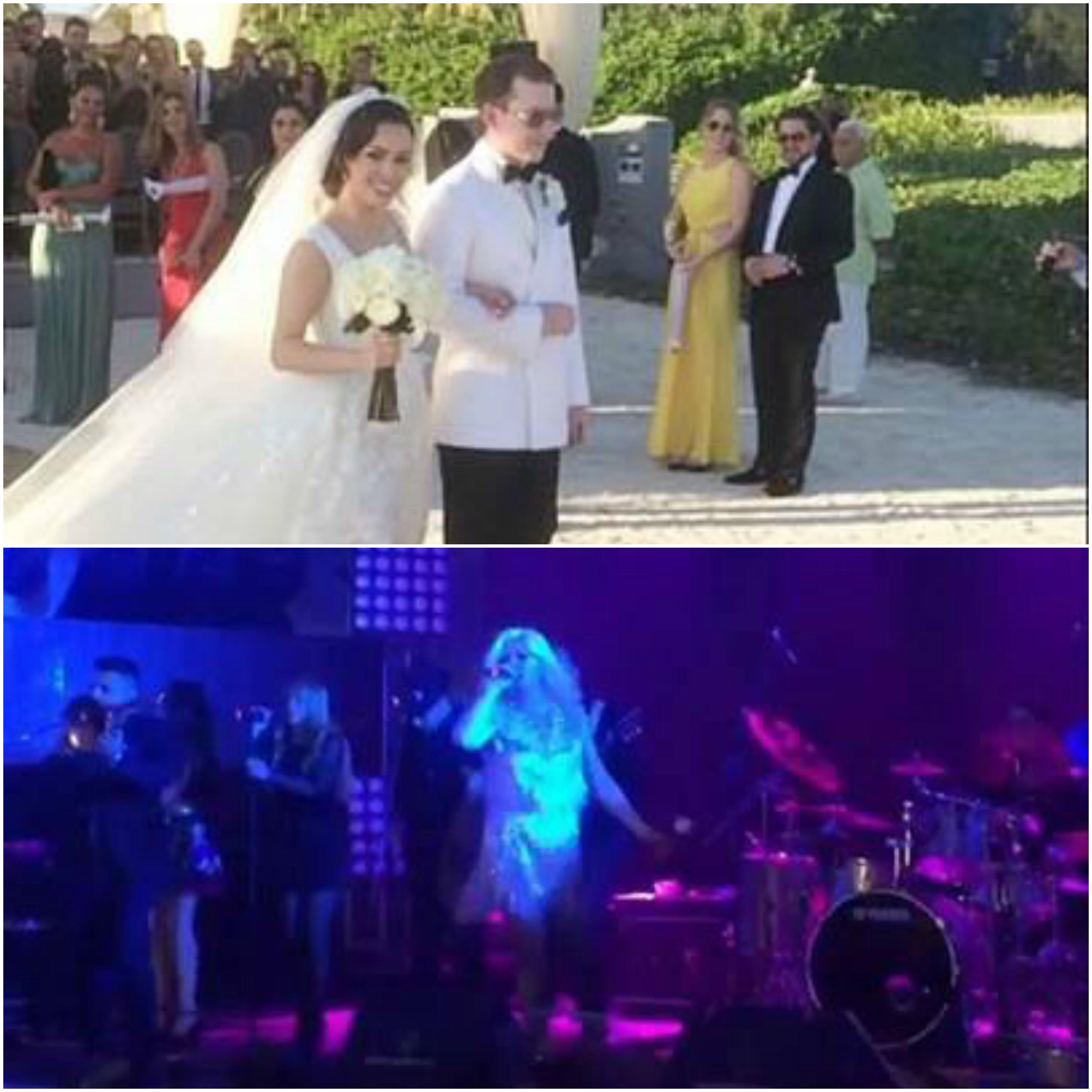 Loredana a cântat la petrecerea ce a avut loc după nunta lui Max Crăciun cu Maria