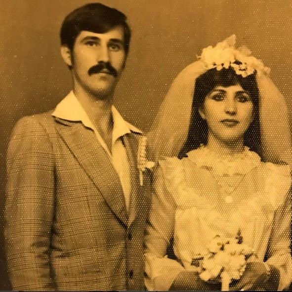 Tatăl Danielei Crudu, împreună cu sora lui