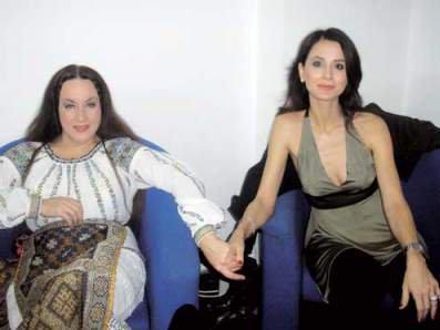 Maria Dragomiroiu, împreună cu Mădălina Manole