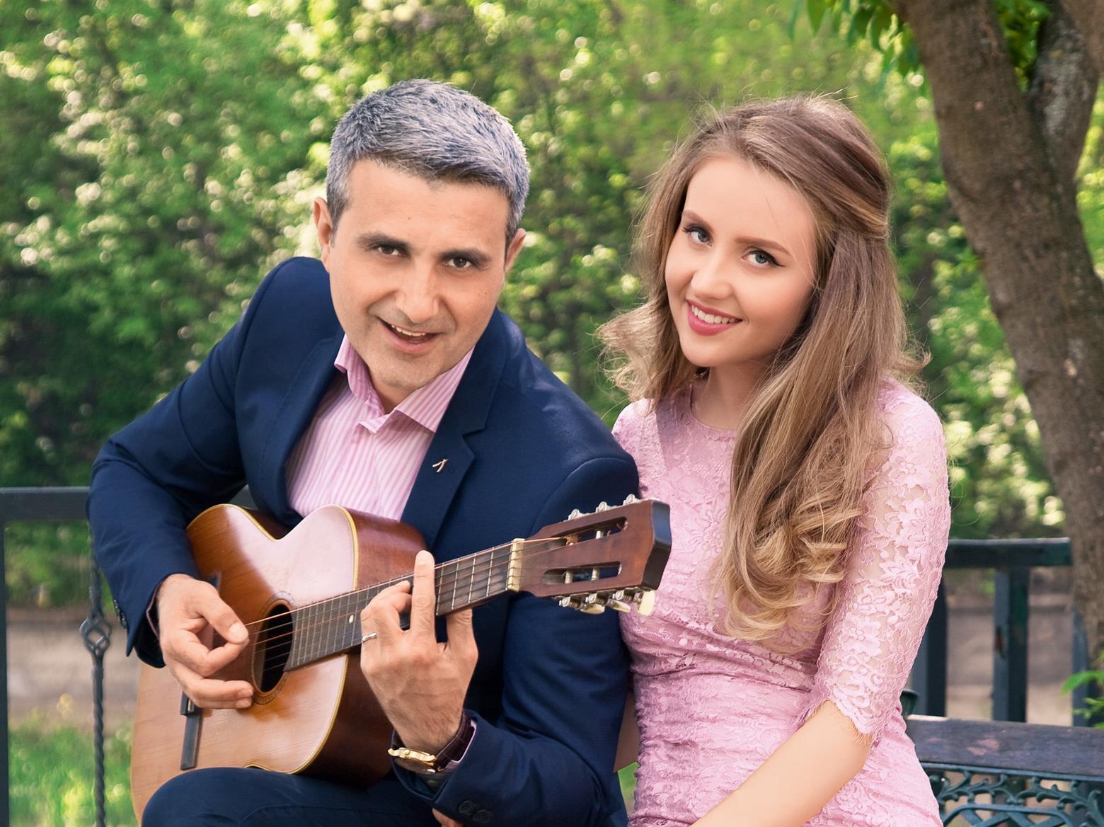 Robert Turcescu, împreună cu soţia lui