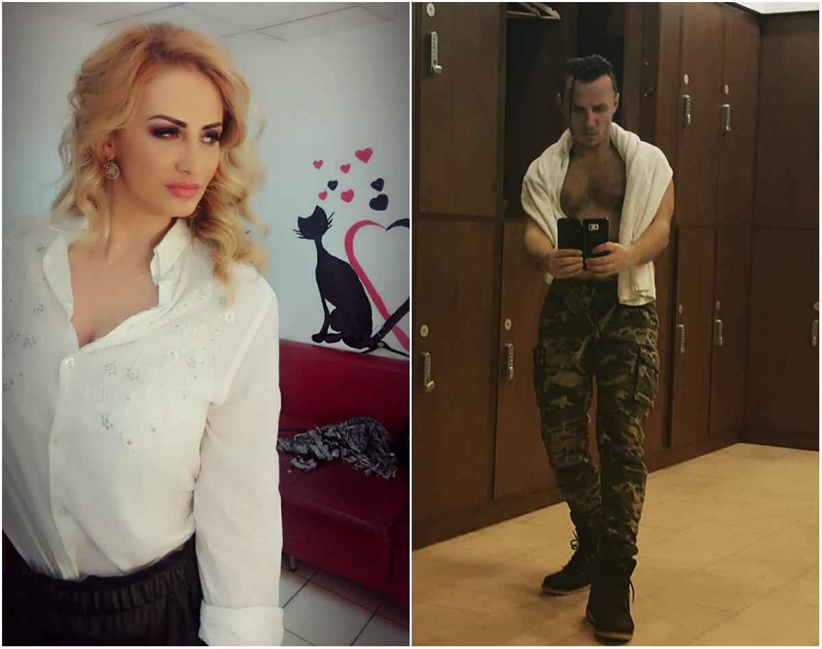 """Julia Jianu, fosta componentă a trupei """"Sexxy"""", şi Mihai Trăistariu"""