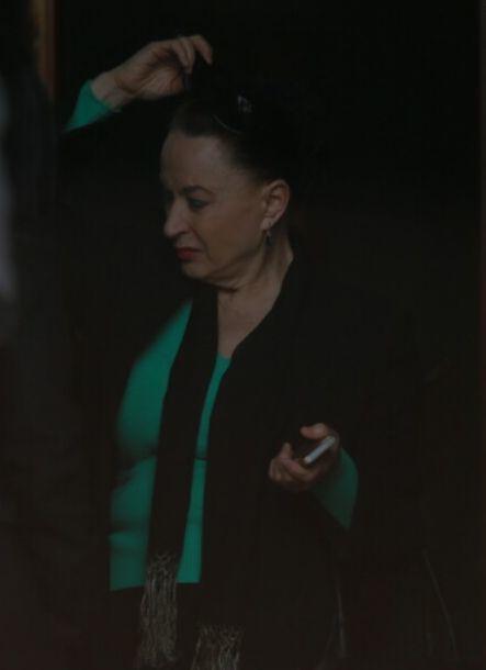 Maria Dragomiroiu a venit la priveghiul Ilenei Ciuculete.