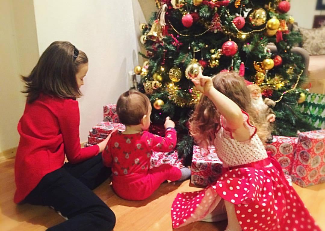 Anastasia, Eva şi David - cei trei copii ai lui Radu Sîrbu