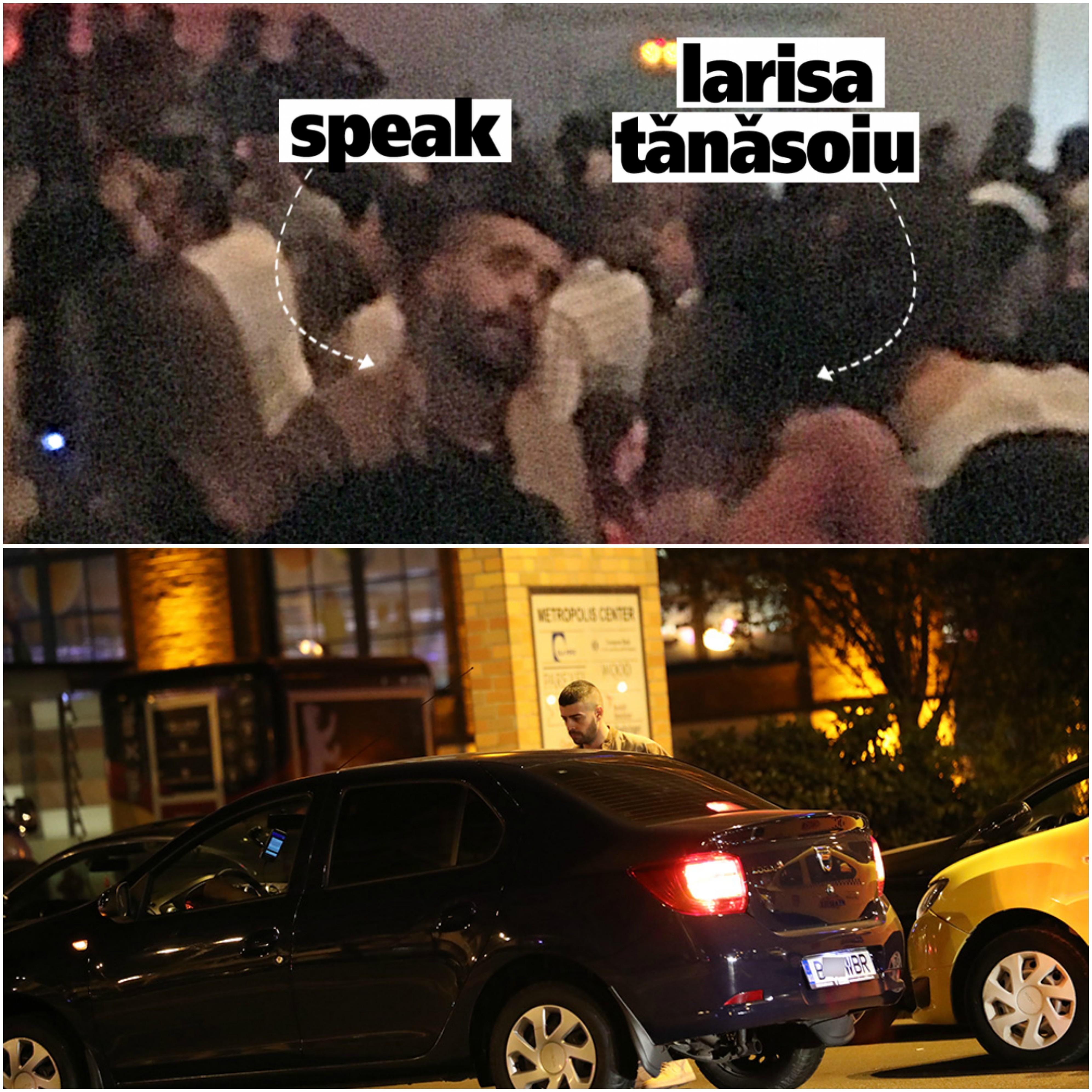 Speak a petrecut cu Larisa Tănăsoiu la LOFT, dar a plecat singur de la club