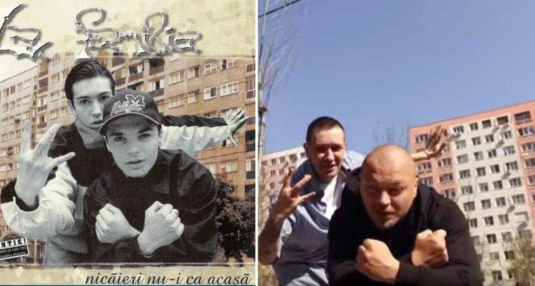 """Coperta albumului """"Nicăieri nu-i ca acasă"""" vs. varianta 2017"""