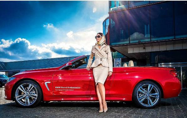 Andreea Marin este foarte mândră de noua ei maşină
