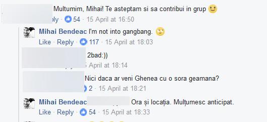 Mihai Bendeac le-a răspuns cu umor comentatorilor!