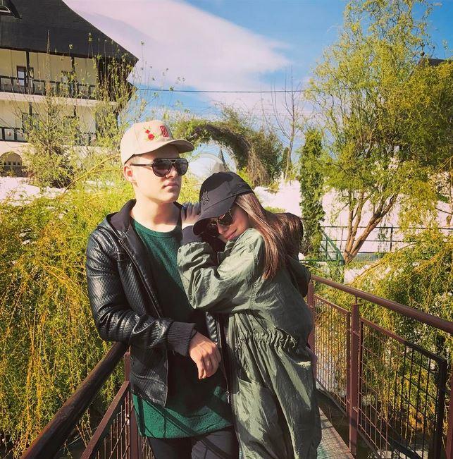 Alexia a făcut publică imaginea pe Instagram