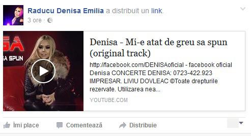 Denisa Manelista a postat această melodie.