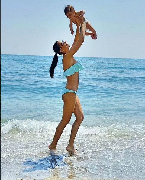 Irina Mohora s-a recuperat fabulos după naştere