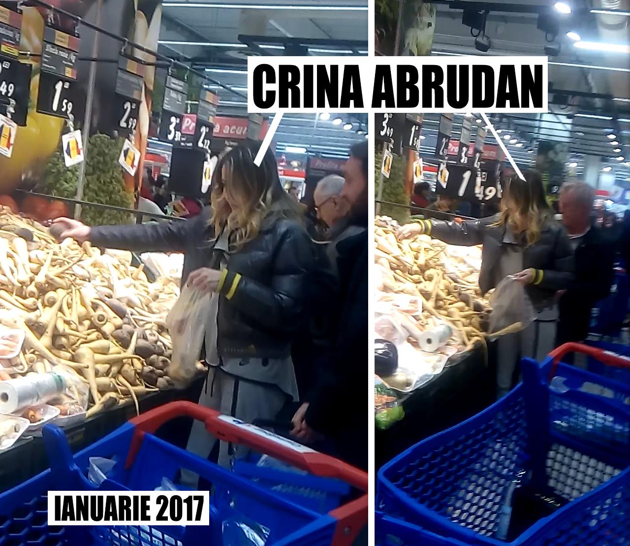 În urmă cu mai multe luni de zile, Crina Abrudan nu purta niciun inel