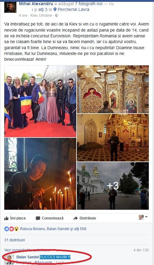 """Mihai Alexandru, compozitorul piesei """"Yodel It"""", a mers la biserică pentru a se ruga la Dumnezeu să-i ajute să câştige competiţia muzicală"""