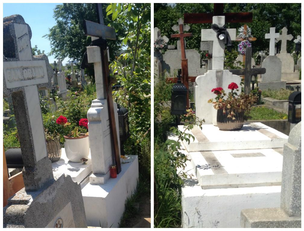 Familia fostului acţionar dinamovist are grijă de mormântul lui