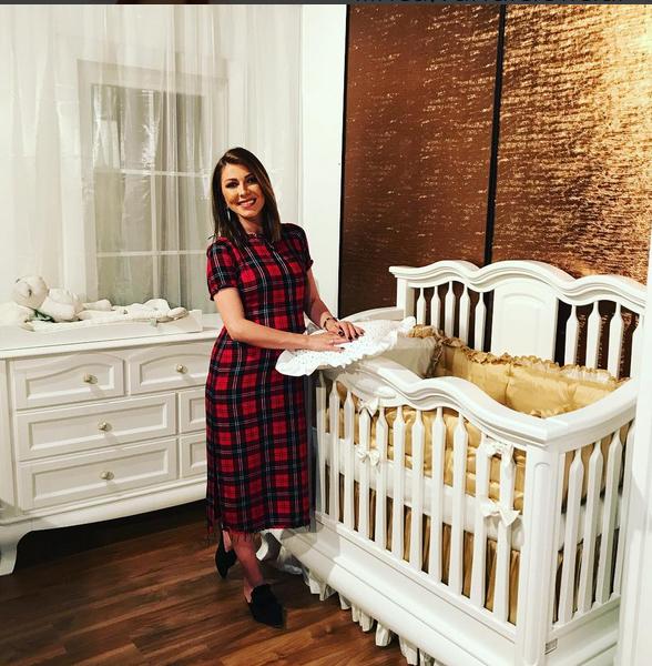 Ilinca Vandici a ales camera pentru bebeluş.
