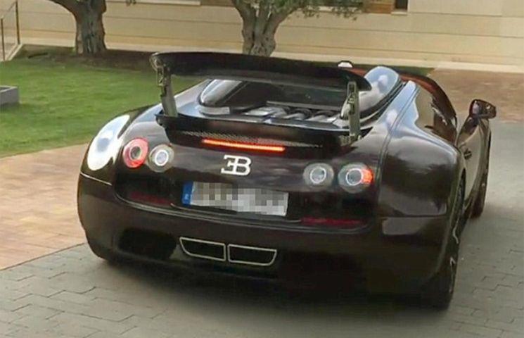 "Ronaldo are în garaj ""monstrul"" Bugatti Veyron"