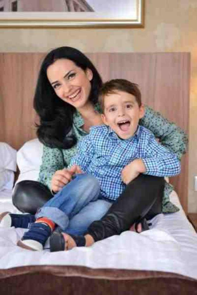 Fiul Magdei vasiliu a fost diagnosticat cu cancer