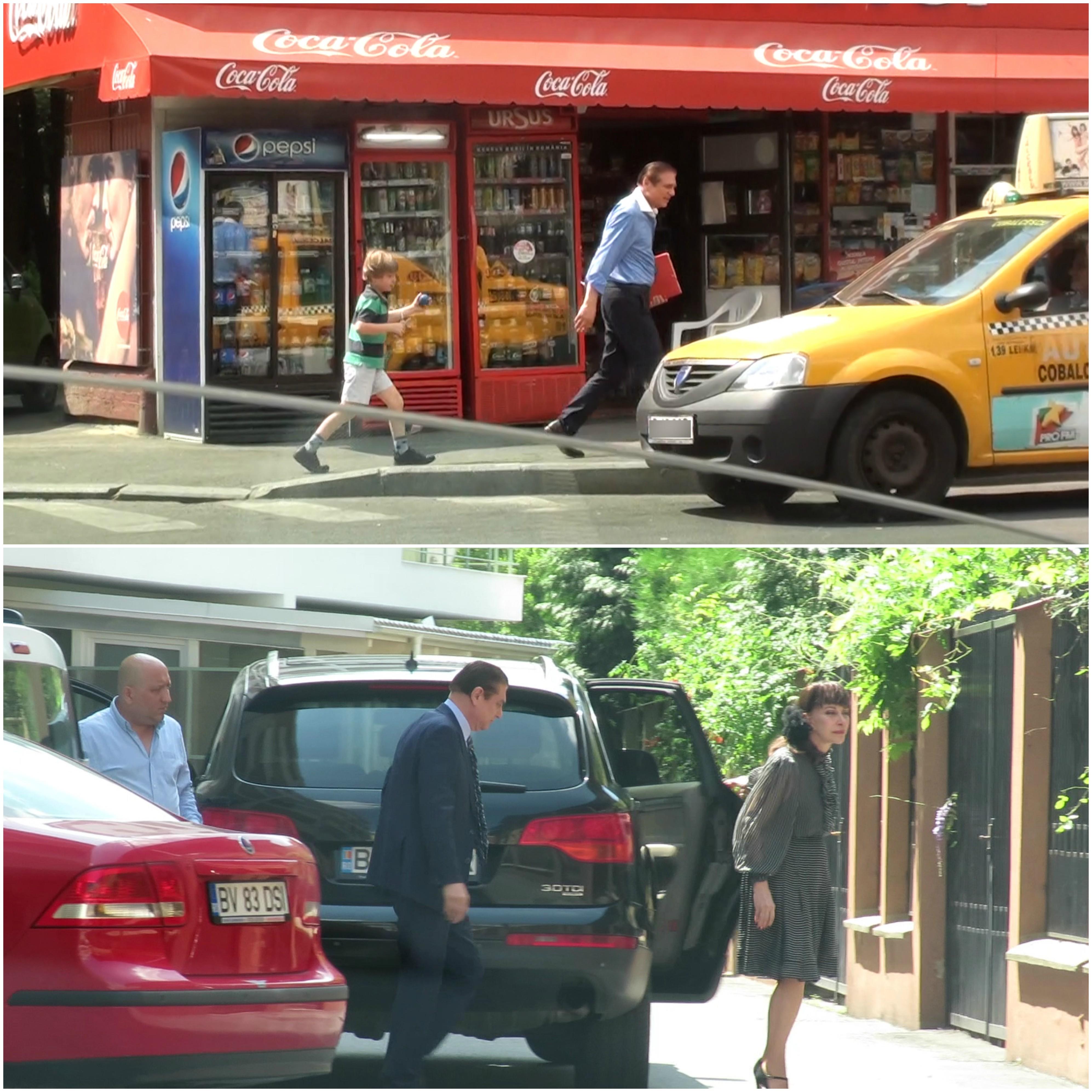 De unde cobora dintr-un Audi Q7, condus de şofer (foto jos), Prinţul Paul a ajuns să ia un taxi din stradă
