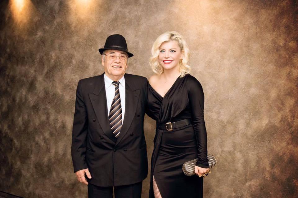 Loredana Groza, alături de tatăl ei
