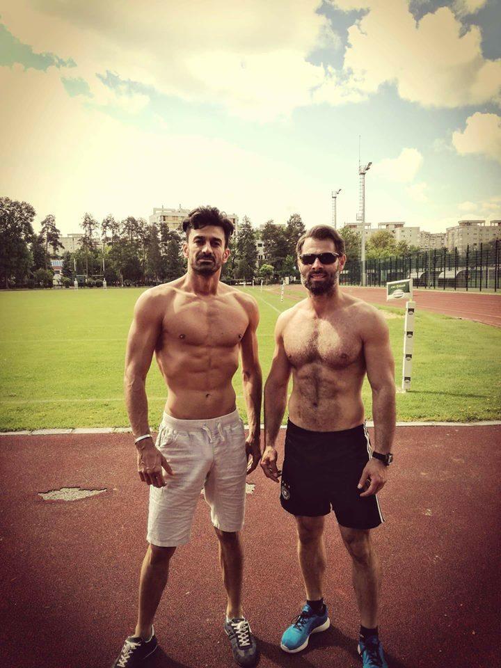 Marco (stânga) ar fi făcut amor cu Nico în timp ce Cătălin se afla în cealaltă cameră
