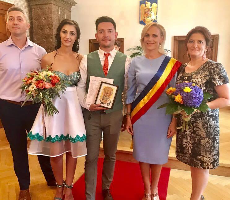 Gabriela Firea, la nunta fiului unei colege