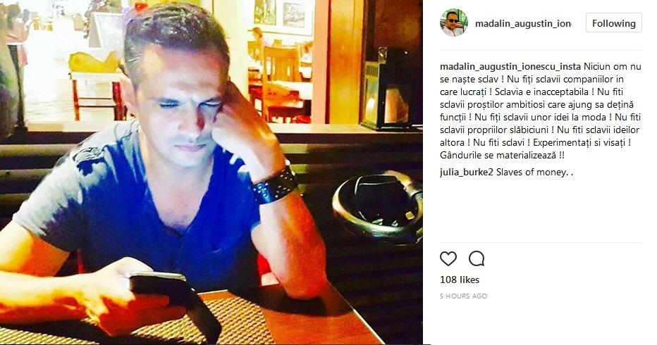 Mădălin Ionescu, mesaj critic la adresa companiilor care-şi suprasolicită angajaţii