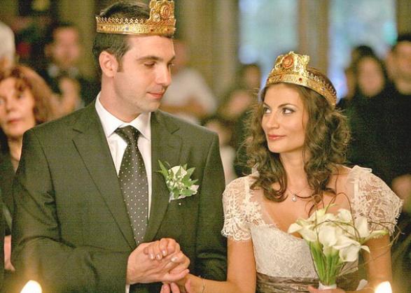 Ioana Ginghină şi Alexandru Papadopol sărbătoresc zece ani de căsnicie