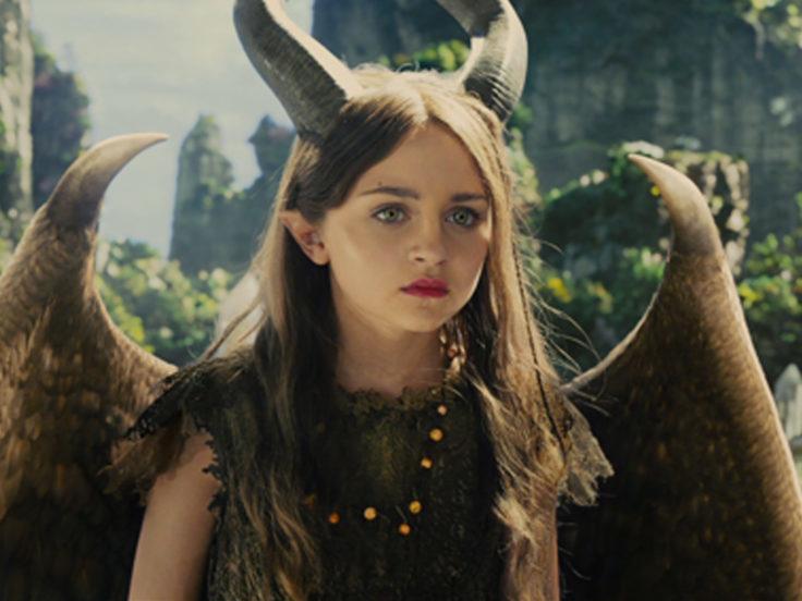 """Ella Purnell în """"Maleficent"""""""