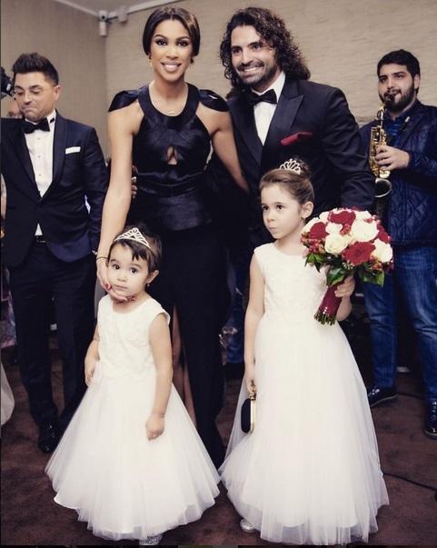 Raluca Pastramă şi Pepe, tablou de familie împreună cu fetiţele