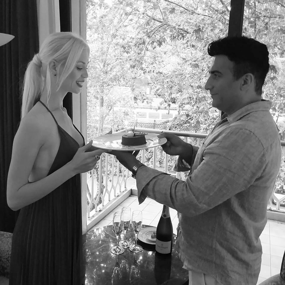 Diana Roibu se iubeşte acum cu afaceristul iranian Amir Badkoubeh