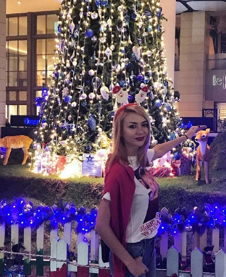 Denisa Tănase şi noul iubit, Mircea Branzei, sunt în vacanţă în Dubai. Sursa foto: Instagram