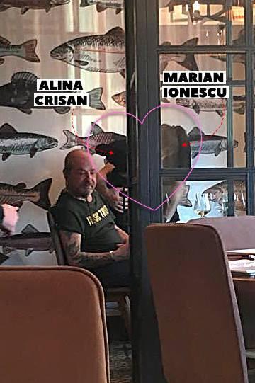 Alina Crişan şi Marian Ionescu s-au sărutat în restaurant!