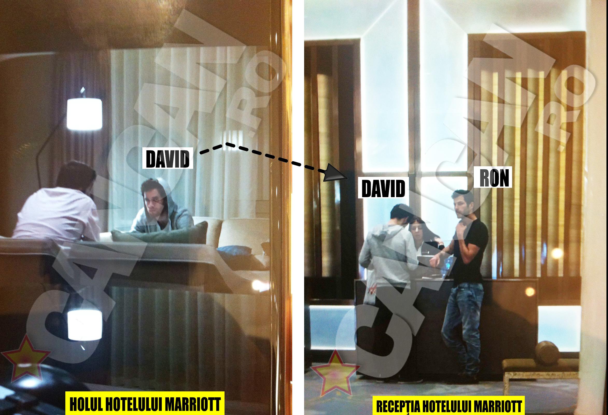 Ofiţerii români i-au ţinut sub observaţie permanent pe Ron Weiner şi David Geclowicz, fie că aceştia discutau conspirativ în cafeneaua din holul hotelului, fie că se găseau la recepţie