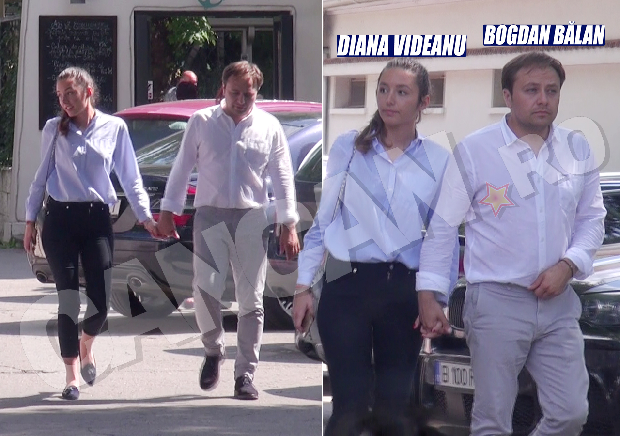 Diana Videanu şi Bogdan Bălan formează un cuplu de puţină vreme