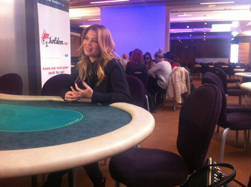 Anul trecut, norocul i-a suras Ginei Pistol si a castigat un turneu de poker