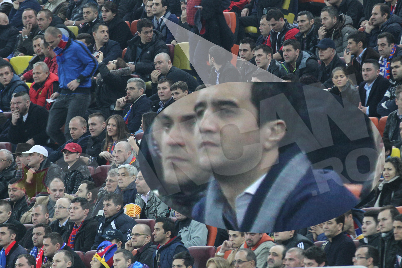 Lucian Becali a privit plin de emotii meciul echipei conduse de unchiu sau