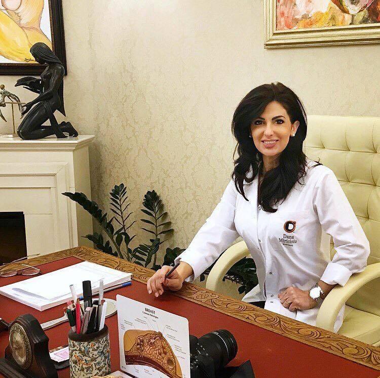 Dana Miricioiu este un renumit medic estetician