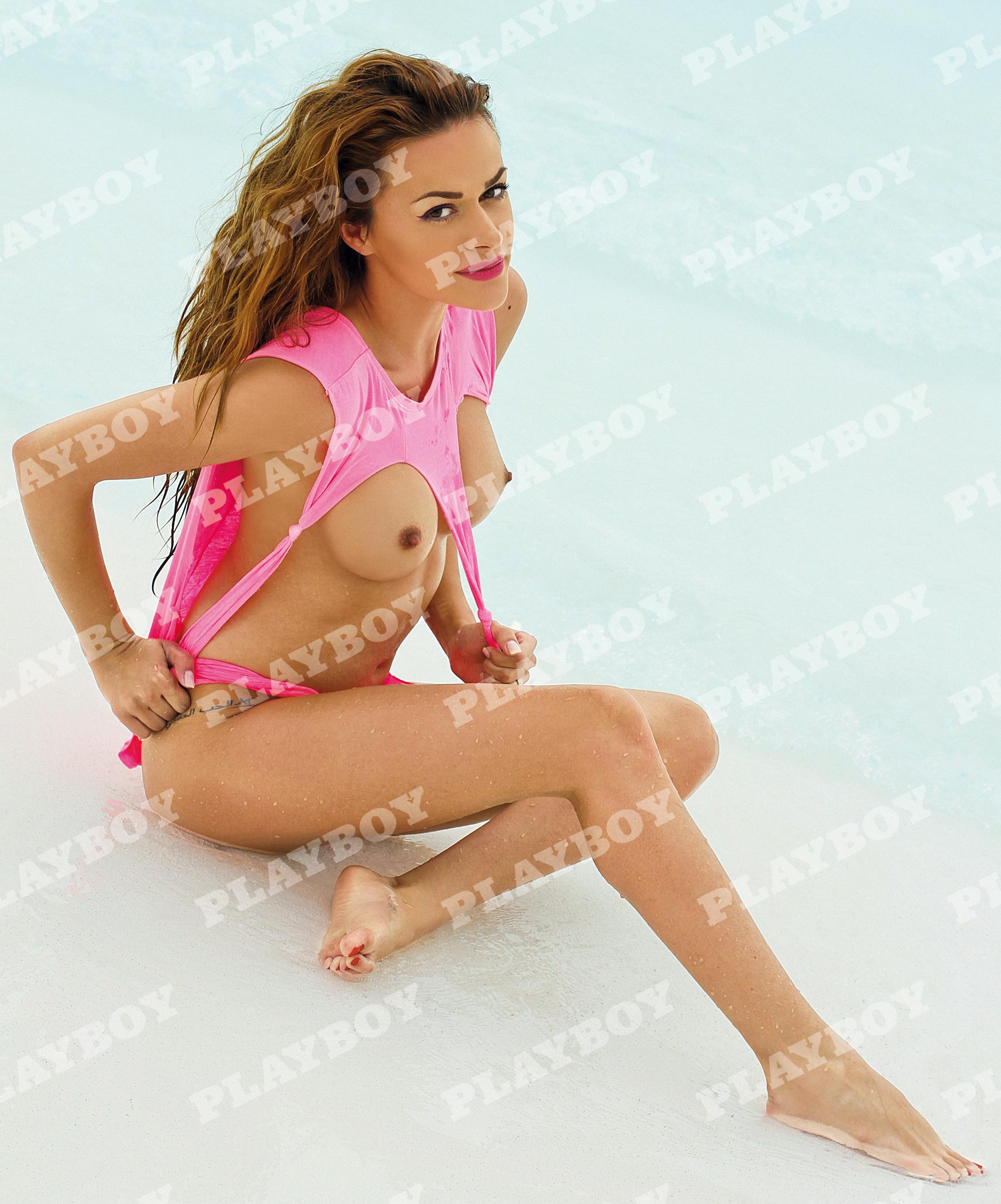 Rellys a aparut in cel mai recent numar al revistei Playboy