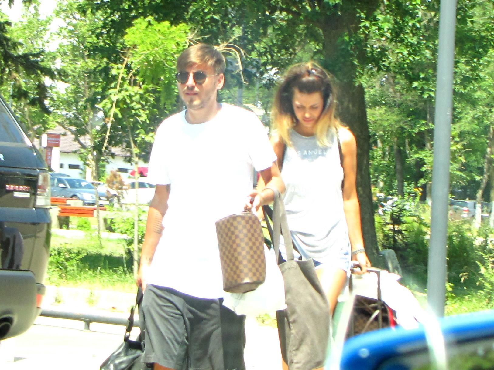 Marius Turcu şi-a petrecut vara trecută în compania iubitei sale