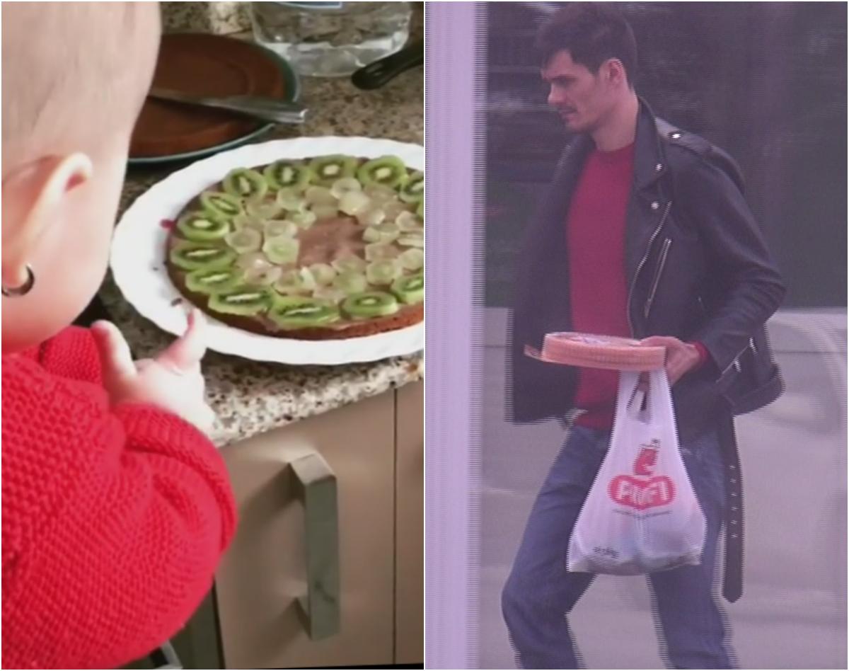George a mers rapid după ingrediente, iar Andreea a făcut tortul