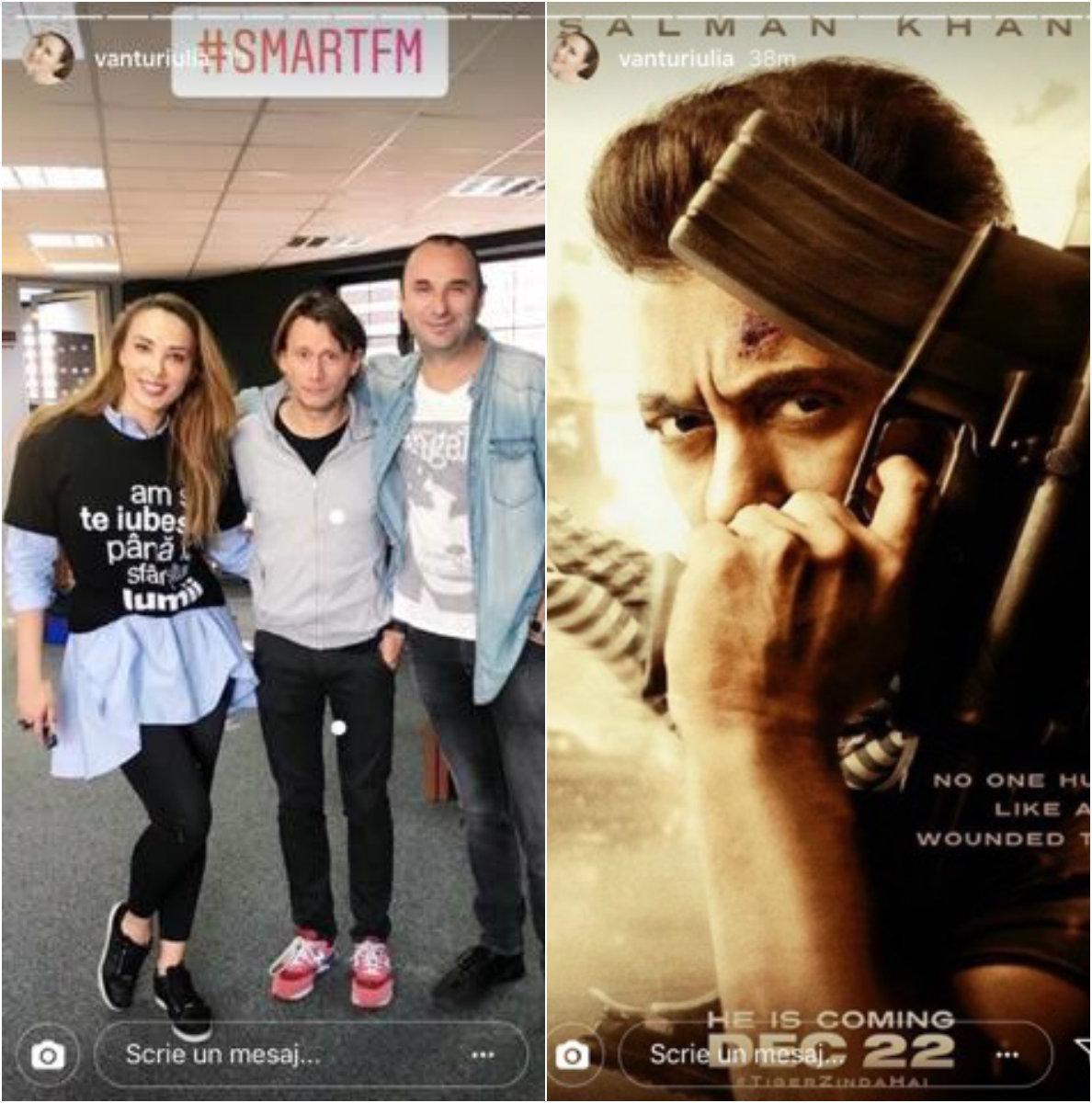 Iulia Vântur, declaratie de dragoste pentru Salman Khan dupa ce s-a spus ca s-au despartit