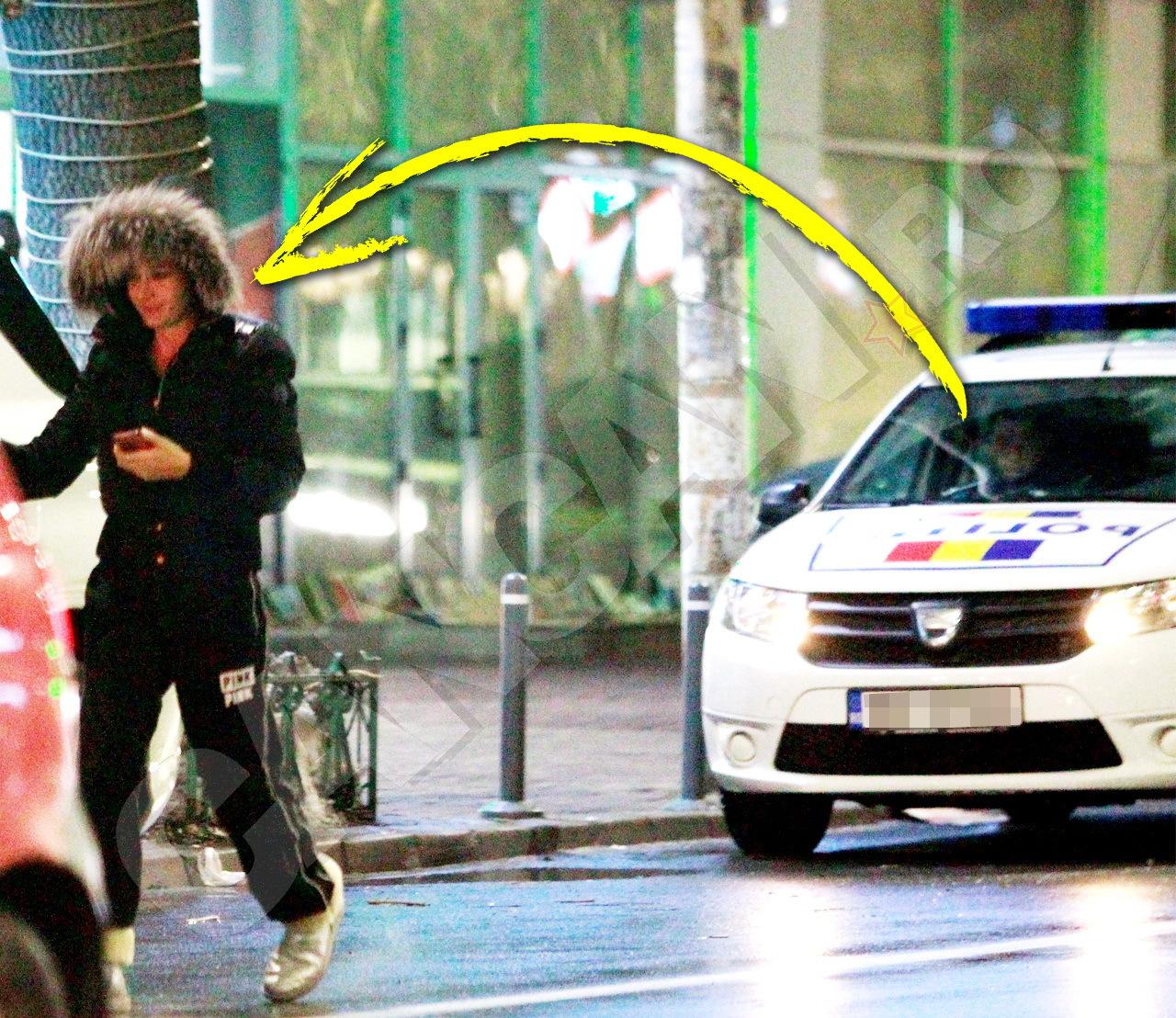 Poliţiştii au recunoscut-o pe EBA în timp ce făcea cumpărături.