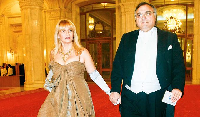 Carmen Palade a fost căsătorită cu Dan Adamescu peste 25 de ani