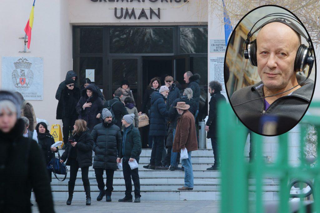 """Mărturisiri dureroase după incinerarea lui Andrei Gheorghe: """"Un război, măcel mediatic din clipa asta"""""""