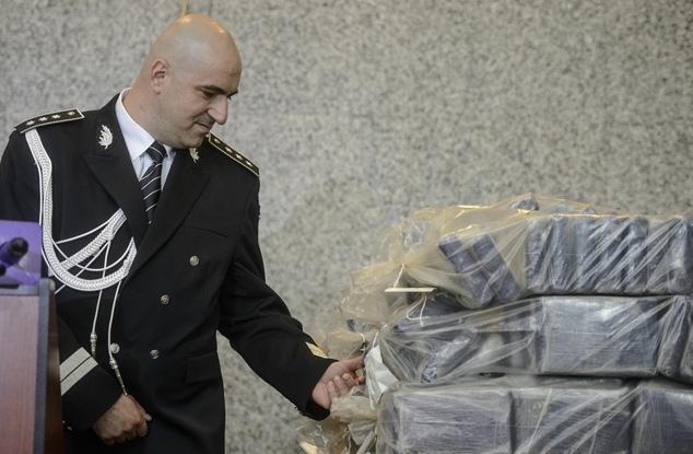 Comisarul șef Claudiu Cucu a prezentat rezultatul mega-operațiunii de filaj internațional
