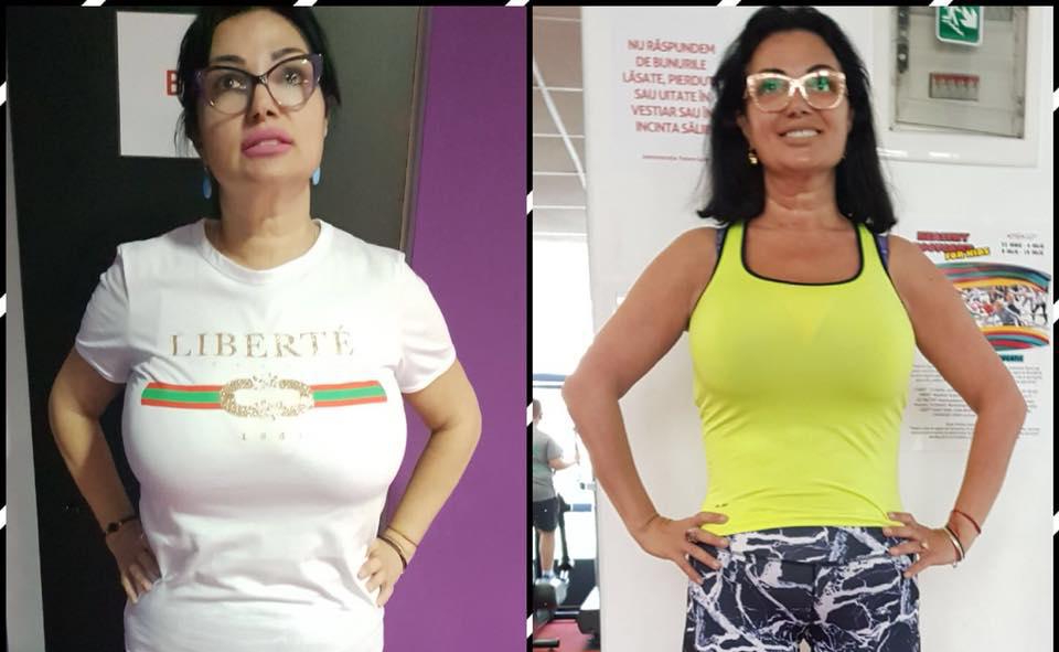 Cum a slăbit Ozana Barabancea 60 de kilograme