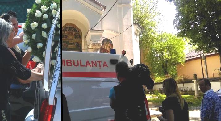 Panică la înmormântarea fiului lui Poieșteanu. I S-A FĂCUT RĂU și au chemat salvarea