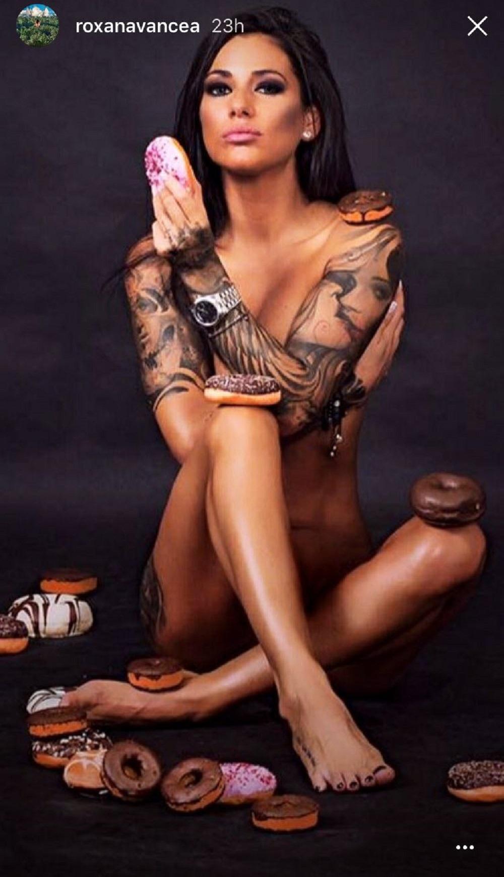 Vancea nackt roxana Yoga roxana