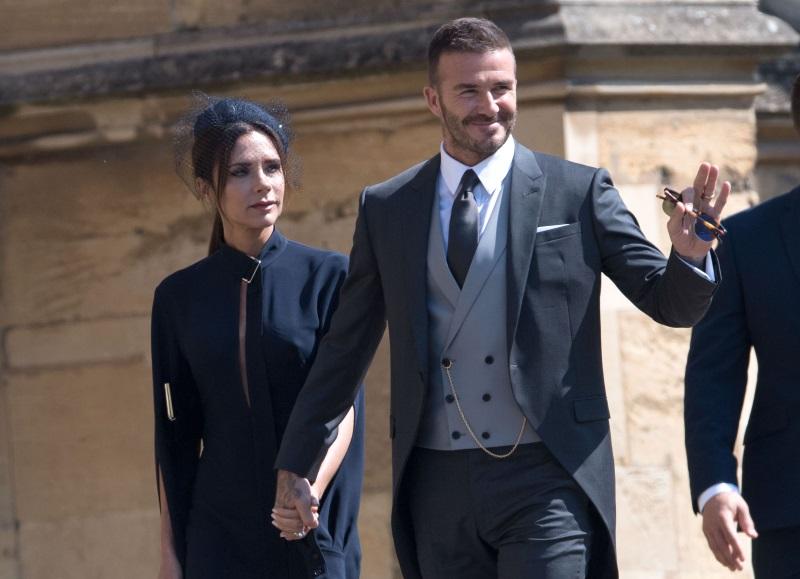David Beckham A Mestecat Gumă în Biserică La Nunta Regală 2018